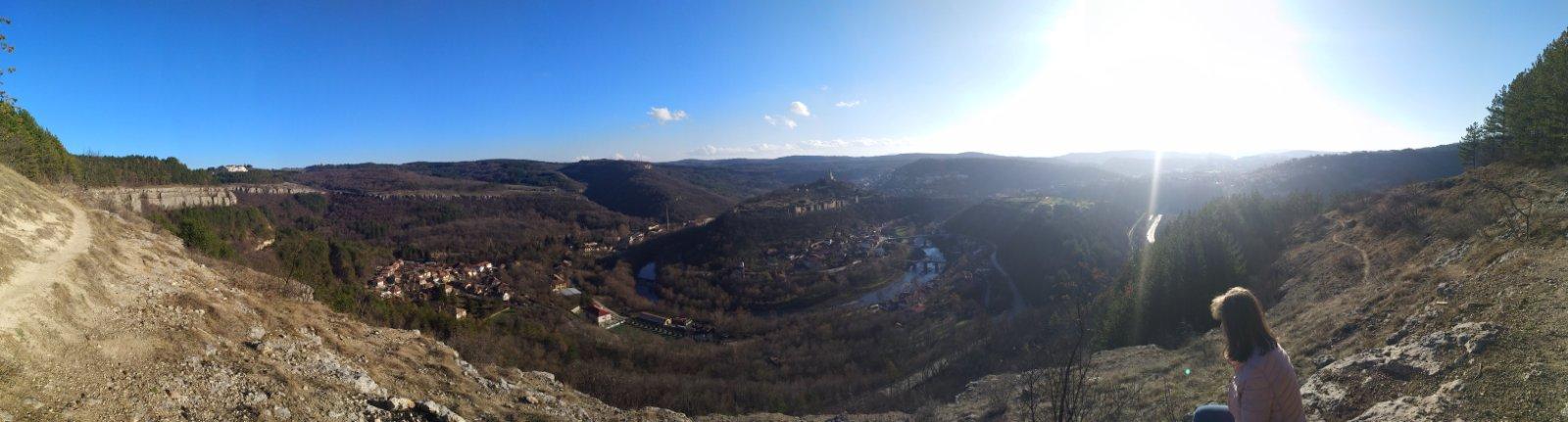 panorama Veliko Tarnovo