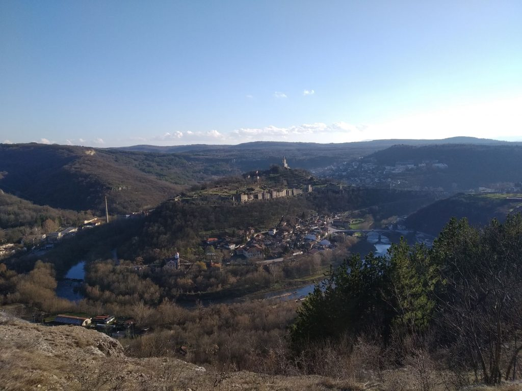 Царевец и Владишкия мост