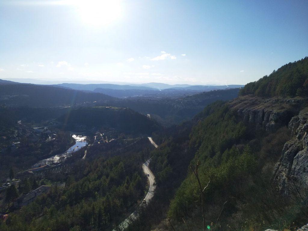 пътя Велико Търново- Арбанаси